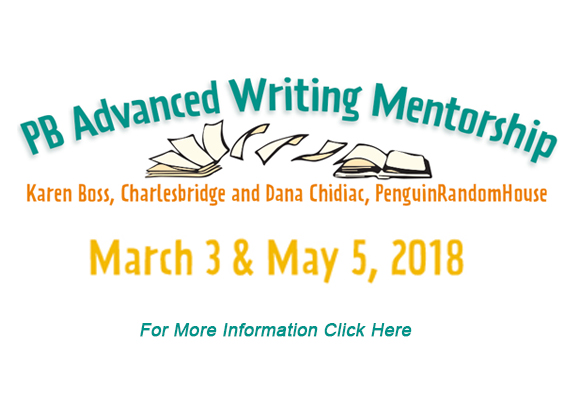 NJSCBWI Advanced Picture Book Mentorship Program Registration for NJ SCBWI Members only: Saturday, January 13, 2018, 10:00 a.m. Registration for out-of-state SCBWI members & all Non-Members: Sunday, January 14, 2018, 10:00 a.m. Registration Limited to 28 participants When: Two Saturdays, March 3, 2018 and May 5, 2018 (9:00 am – 5:00 pm) Where: Garwood Presbyterian Church, 341 Spruce Ave, Garwood, NJ 07027 Cost: Members: $370, Non-Members: $405 But what is the NJSCBWI Advanced Picture Book Mentorship Program? FOUR Workshops Pacing & Tension (includes plotting) Voice & Point of View (includes character and language) Beginnings & Endings (includes plotting and language) Picture-Book Craft (includes a little spice) THREE Critiques Manuscript 1:  Written critique and 15-minute in-person discussion. Revised Manuscript 1: Written line edits and 15-minute in-person discussion. Manuscript 2:  Written critique only. TWO Editors (click on the name for Bio) Karen Boss (Charlesbridge) Dana Chidiac (Penguin/Random House) ONE Amazing Program In addition to the 4 advanced picture book workshops and the 3 critiques all provided by 2 editors looking to build their lists, participants will have opportunities to: Study what works in published picture books Engage in peer critiques Connect with other members Dig deeply into  writing and hear first-hand what editors look for in a manuscript Have time to implement feedback and receive additional feedback on your revisions Manuscript Requirements Authors will submit a manuscript as a word doc. Author/illustrators will submit a manuscript as a word doc. and a .pdf dummy. You also have the choice of bringing the dummy to the critique. All participants must have at least 2 completed PB manuscripts. The first must be uploaded by February 4, 2018, manuscript #1 revision and manuscript #2 upload dates will be announced. Registration opens on: January 13, 2018, 10:00am (ET) for NJ SCBWI members January 14, 2018, 10:00am (ET) for SCBWI members from other regions and non-members Registration Link: HERE Best wishes for an exciting year ahead, everyone! Cathy, Rosanne, Barbara and the NJSCBWI Team