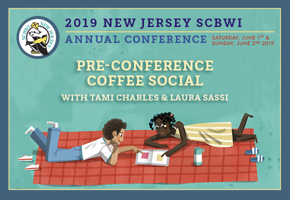 Get ready for the NJ SCBWI Annual Conference! Date:May 15, 2019 Location: Grain & Bakery: cafe serving breads, sandwiches & quiches, plus coffee, amid minimalist, pale-wood decor. Address:700 North Ave, Garwood, NJ 07027 Time: 12:00- 2:00 pm Signup:http://njscbwi.formstack.com/forms/njscbwi_kidlit_social_signup_2019 Come sip & chat ahead of the NJ SCBWI Conference, with award-winning authors Laura Sassi and Tami Charles! Both long-time SCBWI members (and conference attendees), Laura and Tami have multiple children's books published between them. Bring a pen and pad, come with questions about SCBWI, the conference, and the kidlit industry, in general. This event is FREE* and open to both members and non-members. Registration required. So what are you waiting for? Meet us on the 15th and let's get social! * Attendees are responsible for purchasing their own food and beverage items. Author websites: https://laurasassitales.wordpress.com/ https://tamiwrites.com/